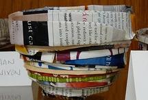 Kids Art - Recycling Projects / by Teach Kids Art