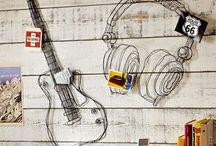 Music Interior Design and Room Decor / by Westone Audio