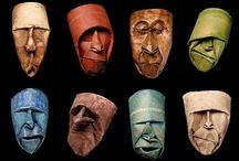 masks / by Jodi Cramond