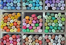 Copic Markers & Pencils  / by Cynthia Ryder
