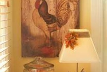 Rooster Decor / by Sarah Strout