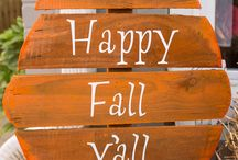 Fall deco / by Alicia Lesperance