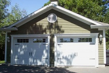 Detached Garage | Garage Détaché / All models of garage doors for your detached garage. #garagedoor #detachedgarage  Tous les modèles de portes de garage pour votre garage détaché. #portedegarage #garagedetache / by Garaga