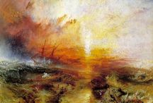 Art - Joseph Mallord William Turner / (1775-1851) British artist. His work is regarded as a romantic preface to impressionism. / by Asdis Stefansdottir