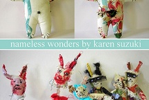stuffies / by Sally Reames