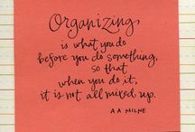 Home:  Cleaning and Organizing / by Sarah Hintze