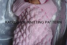Baby knits and sewing / by Creations France