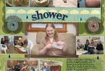 Shower Alphabet Article - April 2013 / by Scrapbooking.com Magazine