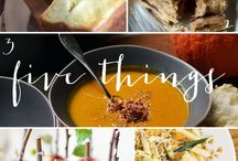 recipes: for fall / by Martha Swann