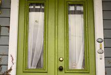 Front doors / by Miranda Young