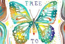 and BuTTerFlys are free 2 Fly / by Lynda YoungBird