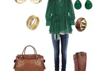 Green is my thing / by Virginia Johnson