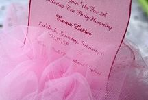 Invitations / by Dee Arnold