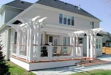 Three Season Porch Idea Board / Inspirations for the three-season porch/sunroom we're adding on this fall.  / by Heidi Pearson