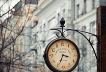 Relógios <3 / by Margarida Moura
