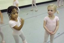 Danceclass for the little ones / by Margot