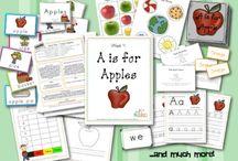 apple theme / by Brandi Beavers