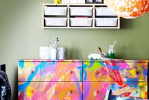 Teen rooms and funky furniture / by Jennifer Devich-Dwire