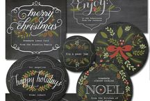 Christmas Printables / Printable tags, ephemera & more for the holidays / by Julie Campbell