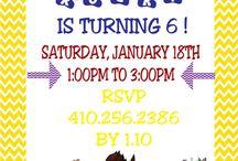Birthday Party Ideas / by Samantha Vega