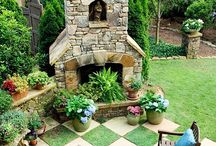 Outdoor yard ideas / by Bettye Vernon