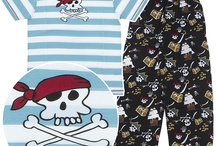 Matching Family Pajamas -- Pirate Theme / All of these fun pirate-themed pajamas and onesies are Lazy One brand.  / by Crazy For Bargains Pajamas