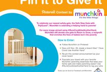 "I Sure Could Use Another Hand / To celebrate our newest safety gate, the Safe Step Gate with TripGuard, Munchkin is extending a helping hand to parents!    See our ""Pin It to Give It"" pin for more information.  / by Munchkin Inc."