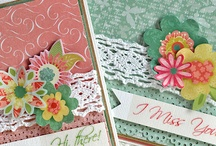 OWH Bloghop Cards / by Sandy Allnock