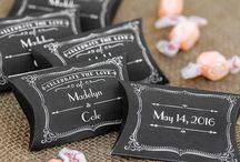 Chalkboard Wedding Ideas - Chalkboard Wedding Decorations / Chalkboard themed wedding ceremony and reception decoration ideas. / by My Wedding Reception Ideas