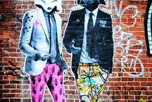 arte de rua / by Gisèle Sandy