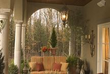 WISH I HAD A PORCH / I wish everyone had a beautiful porch to sit on and enjoy the company of their neighbors! / by Carolyn Fisk