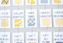 Seating & Escort Cards / by Bridal Party Tees
