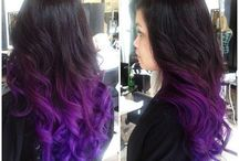 purple hair / by Caitlin Carter