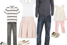 outfit ideas-family / by Sarah Cardenas
