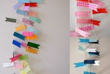 WASHI TAPE CRAFTS / Easy washi tape crafts and tutorials found via Rebekah Dempsey at www.ablissfulnest.com.  / by Rebekah Dempsey | A Blissful Nest