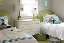 Home - Kid Rooms / by Kate Waller