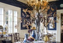 CLASSIC BLUE AND WHITE ROOMS / Blue and white rooms / by South Shore Decorating