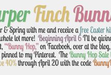 The Harper Finch Egg Hunt / Stay tuned for each download on my Facebook page, in my newsletter, here on Pinterest and at my blog. imharperfinch.blogspot.com / by Harper Finch