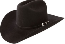 Cowboy Hats / by Rodger Hawes