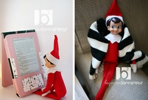Adventures of Jolly the Elf on a Shelf / elf on a shelf / by Aria Potter