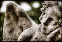 Angels and Cherubs statuary 1 / by What I Like