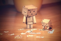 Danbo / Such incredible cuteness from a simple cardboard box! / by Lisa Negri