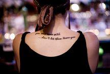 Tattoos / by Alayna Reta