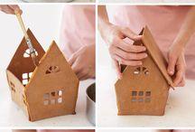 gingerbread house / by Paulina Wośko