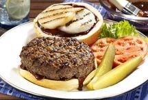 Burgers / by Barbara Poole