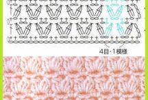 Crochet Stitch Patterns / by Slavica Cica Stevanovic