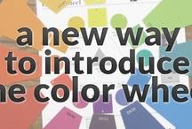 Color wheel / by Janine Nagrosst