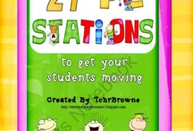 Let's Move It...School Style!!! / by Lisa Saunders