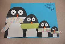 Letter P: penguins / by Izzie, Mac and Me