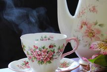 love of teacups  / by Pam Taylor